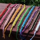 hacer pulseras con cadenas e hilo
