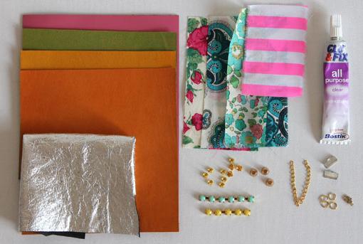 hacer-pulseras-de-cuero-y-abalorios-materiales