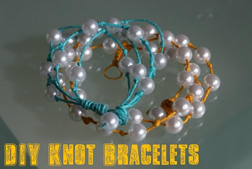 como hacer pulseras de perlas paso a paso