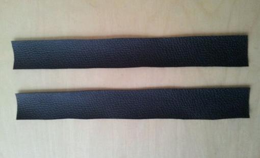 Cómo hacer pulseras de cuero con abalorios y tachuelas